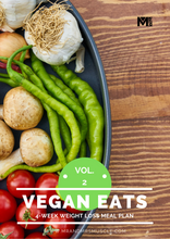 Load image into Gallery viewer, Vegan weight loss meal plan