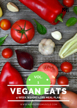 Load image into Gallery viewer, Vegan Weight Loss Meal Plan - 4 Weeks