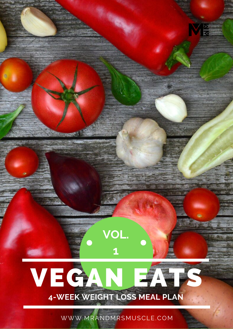 Vegan Weight Loss Meal Plan - 4 Weeks