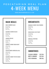 Load image into Gallery viewer, Vol.2 Pescatarian Weight Loss Meal Plan - 4 Weeks