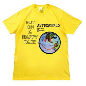 Astroworld 'Put On A Happy Face' T-Shirt