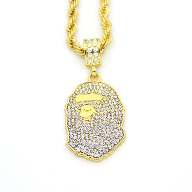 Iced Out Bape Chain