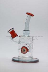 Phatt Ass Glass Red Waterpipe
