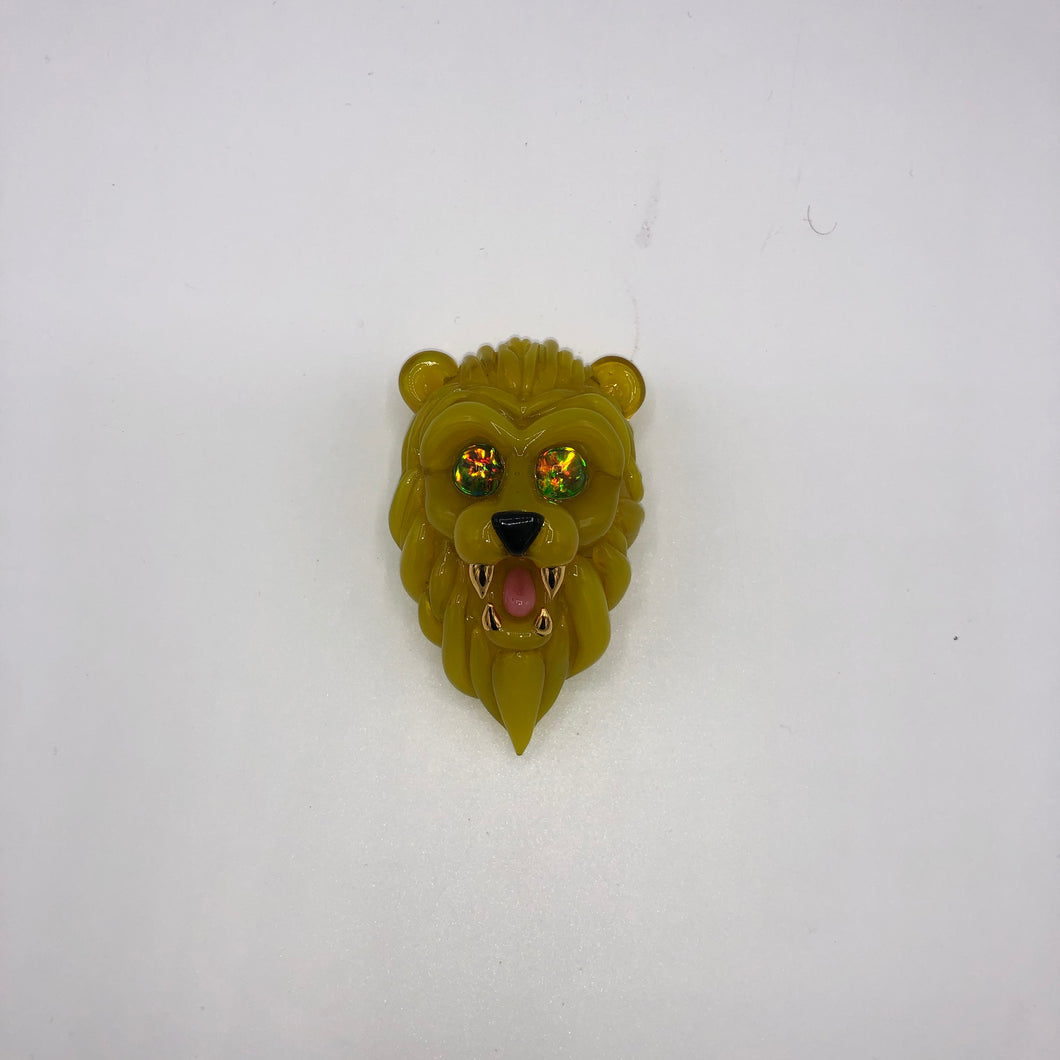Gold Teeth Lion