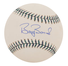 Barry Bonds Signed Official 2001 MLB All Star Game Baseball | Barry Bonds