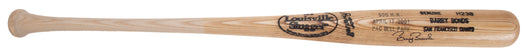 Game Issued Barry Bonds Signed Limited Edition 500 Home Run  Commemorative Louisville Slugger Bat