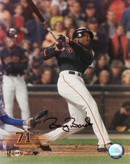 Signed 71 HR Photo (Not Framed) | Barry Bonds