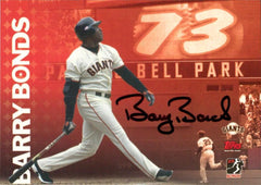 Signed 73 Home Run Bellpark Commemorative Card | Barry Bonds