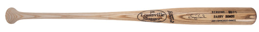 Barry Bonds Game Issued Louisville Slugger B371LS Model Bat