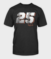 Number 25 T-Shirt | Barry Bonds