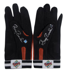 Barry Bonds Game Issued and Dual Signed Batting Gloves- Pair | Barry Bonds