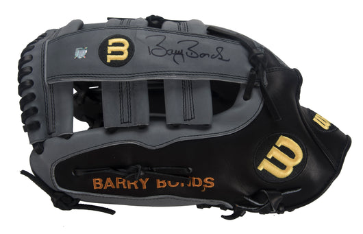 Professional Model Game Issued and Signed Barry Bonds Fielders Glove