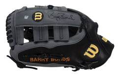 Professional Model Game Issued and Signed Barry Bonds Fielders Glove | Barry Bonds