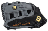 Barry Bonds Signed Wilson Game Issued Fielders Glove
