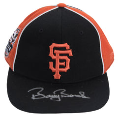 Barry Bonds Signed San Francisco Giants Black And Orange