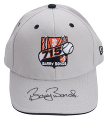 Barry Bonds Signed 715 Home Run Logo Cap | Barry Bonds