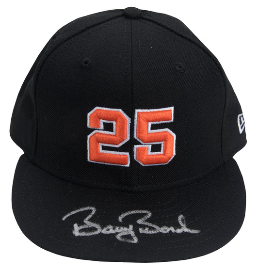 Barry Bonds Signed