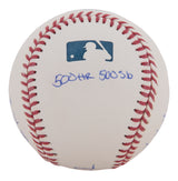 Barry Bonds Signed And Multi-Inscribed With Career Highlights Official MLB Baseball - Limited Edition of 25