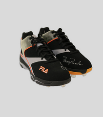 Game Used FILA Cleats - 2002 Season | Barry Bonds