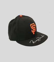 SF Signed Game Issued Cap | Barry Bonds