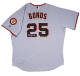 Barry Bonds Signed Game Issued 2006 San Francisco Giants Grey Road Jersey