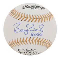 Barry Bonds Signed And Inscribed Rawlings Gold Glove Baseball | Barry Bonds