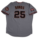 SF Giants Authentic Game issue Signed Bonds SF Giants Away Jersey