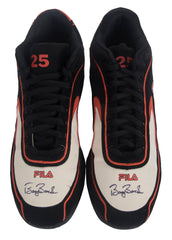 Signed Game Issued Fila Turf Shoes – Black/Orange/White- Both Signed | Barry Bonds