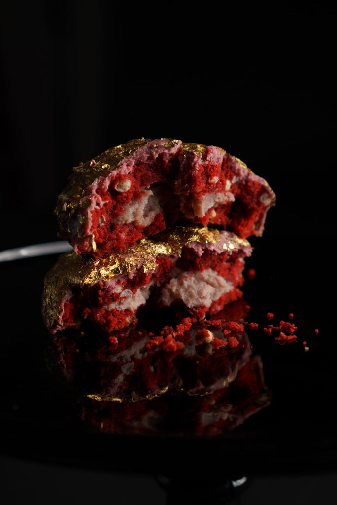 Ruby Gold Red Velvet Cookie