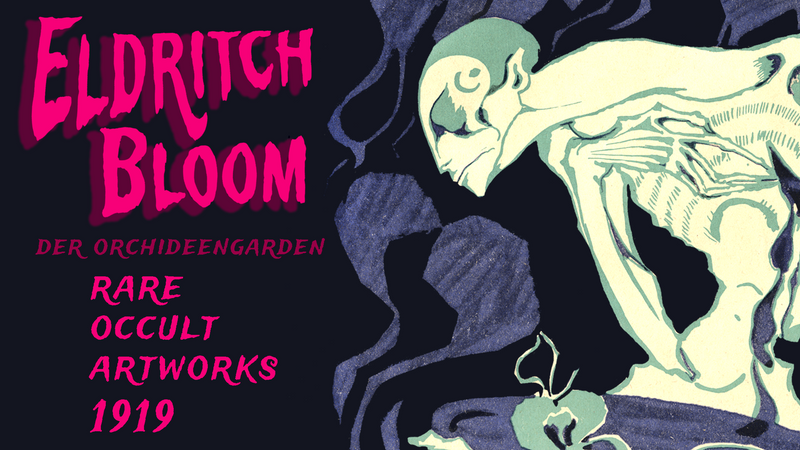 ELDRITCH BLOOM: The Art of Der Orchideengarten Vol. 3 (1919) Issues #13-18