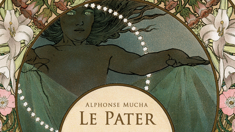 Alphonse Mucha Le Pater Limited Edition Hardcover