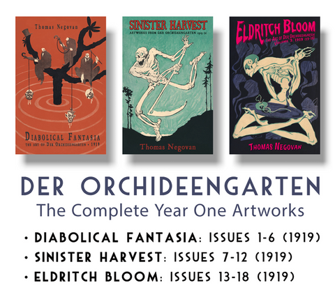 Der Orchideengarten Century Guild Book Series The Art of Der Orchideengarten