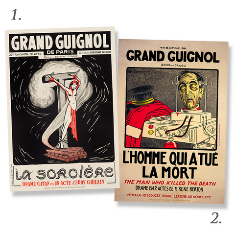 Grand Guignol Century Guild Original Theatre du Grand Guignol Poster Edition Prints