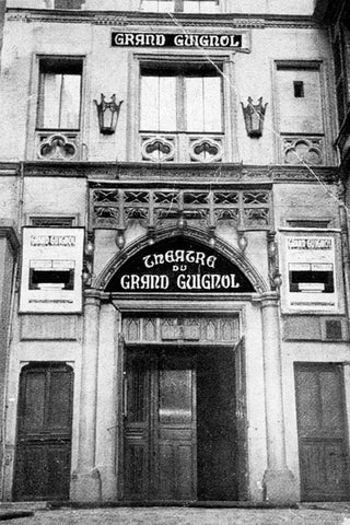Le Theatre du Grand Guignol in Paris