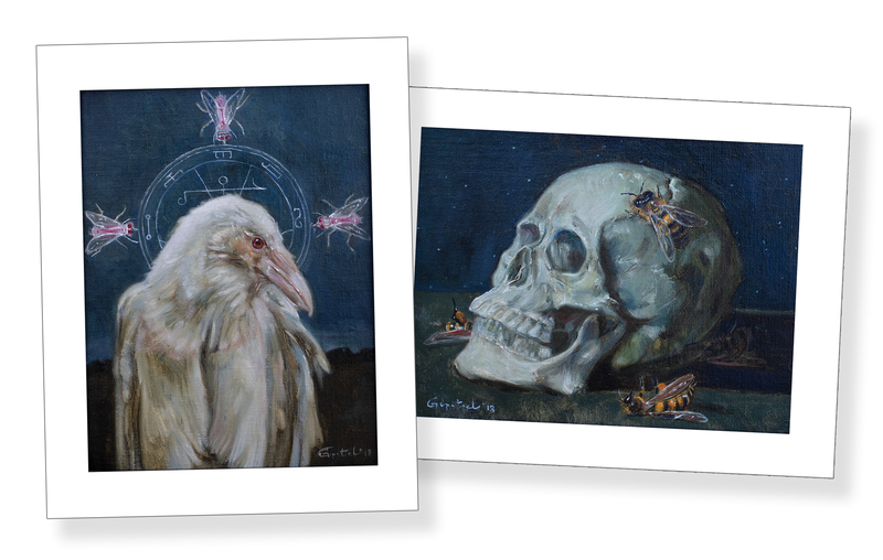 Millie La Mar [The Albino Mind Reader] by Gail Potocki | Limited Edition Fine Art Print