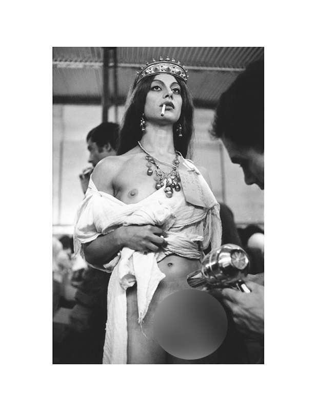Blow Dryer by Claudio Patriarca | Caligula: The Mario Tursi Photos | Archival silver rag photograph