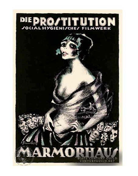 Die Prostitution (11x14 Patronage Print #26)