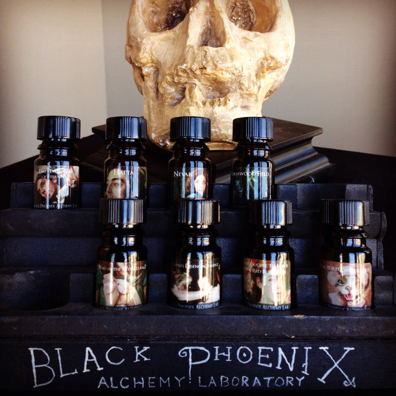 """Youth's Disengagement"" LIMITED EDITION scented oil from Black Phoenix Alchemy Lab"