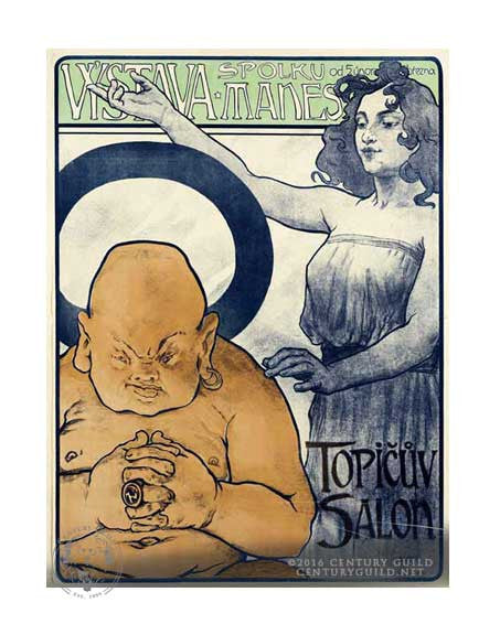 Topicuv Salon  (11x14 Patronage Print #30)