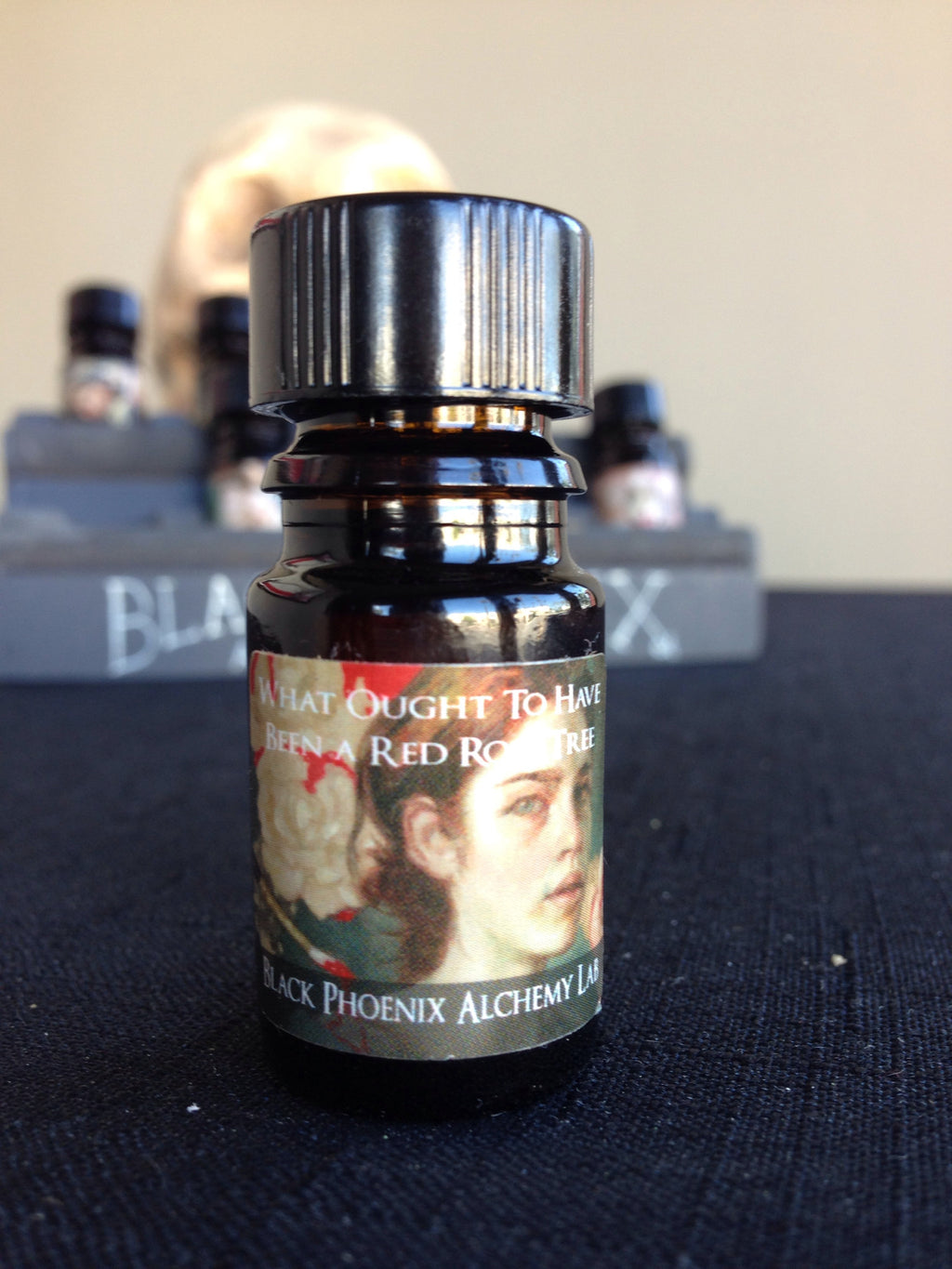 """What Ought To Have Been A Red Rose Tree"" LIMITED EDITION scented oil from Black Phoenix Alchemy Lab"