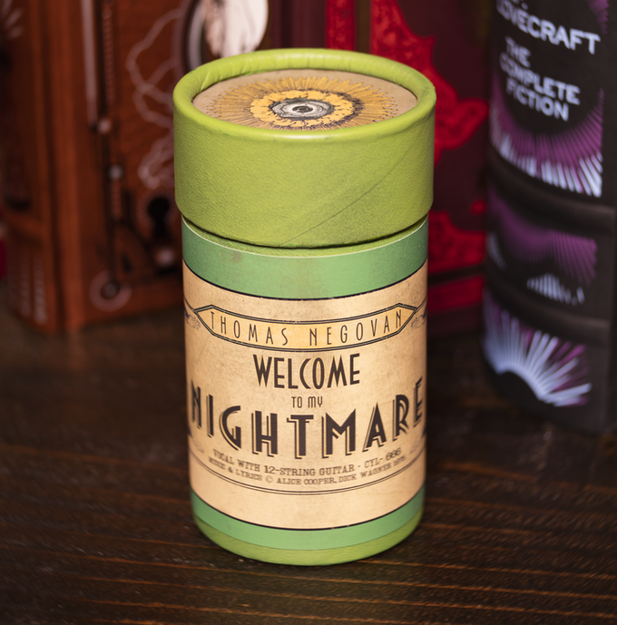 Thomas Negovan - The Divine Nightmare Wax Cylinder Single