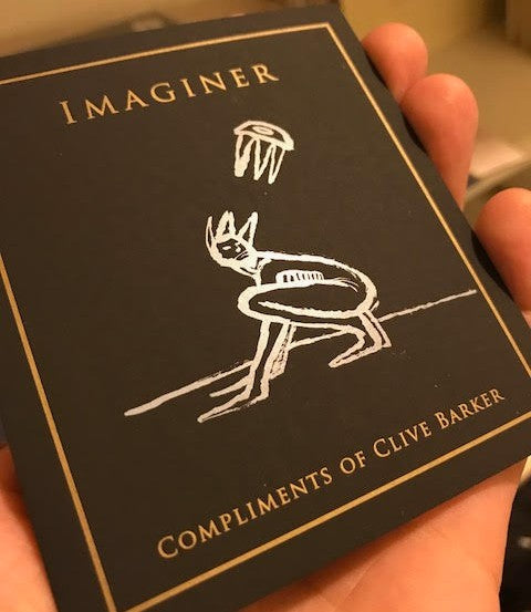Clive Barker IMAGINER Paintings and Drawings, Volume I