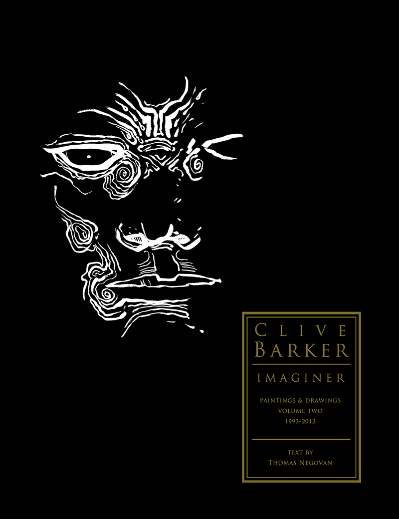 Clive Barker IMAGINER Paintings and Drawings, Volume 2