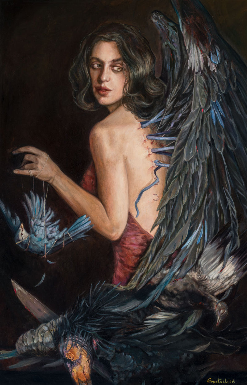 Jenny Lee Snow [Pip] by Gail Potocki | Limited Edition Fine Art Print