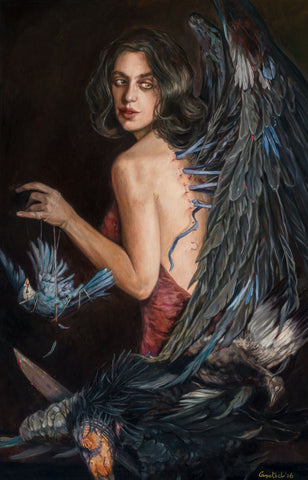 Gail Potocki ENVY The Seven Deadly Sins Fine Art Print