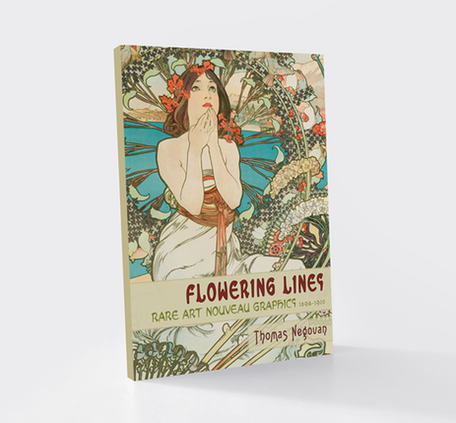Flowering Lines: Rare Art Nouveau Graphics 1883-1911 [Softcover]