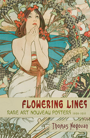 Flowering Lines Art Nouveau Graphics Book Alphonse Mucha Monaco Thomas Negovan Century Guild