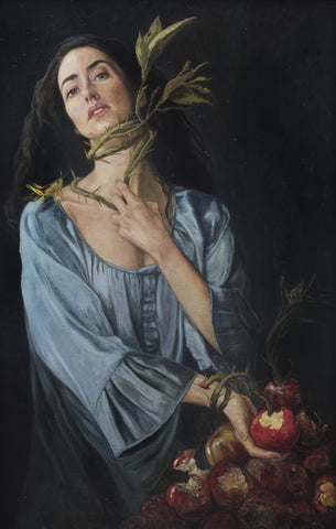 Gail Potocki GLUTTONY The Seven Deadly Sins Fine Art Print
