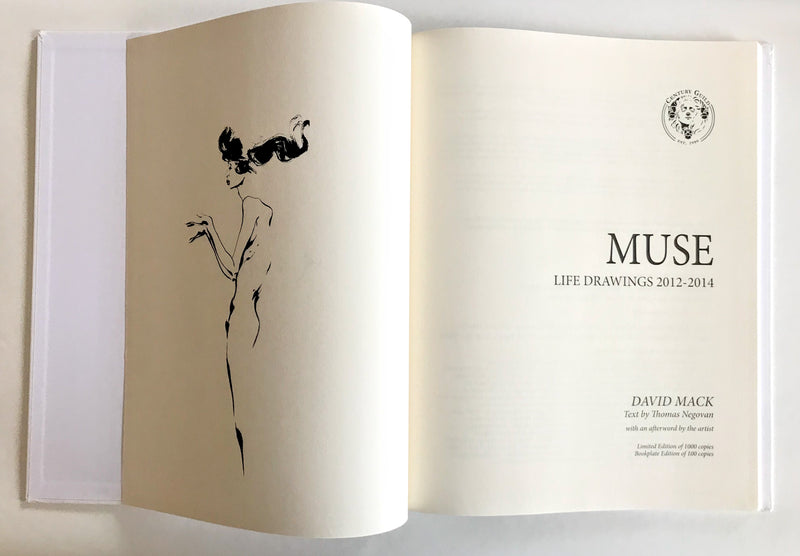 David Mack MUSE Life Drawings 2012-2014 Vol. I [Hardcover]