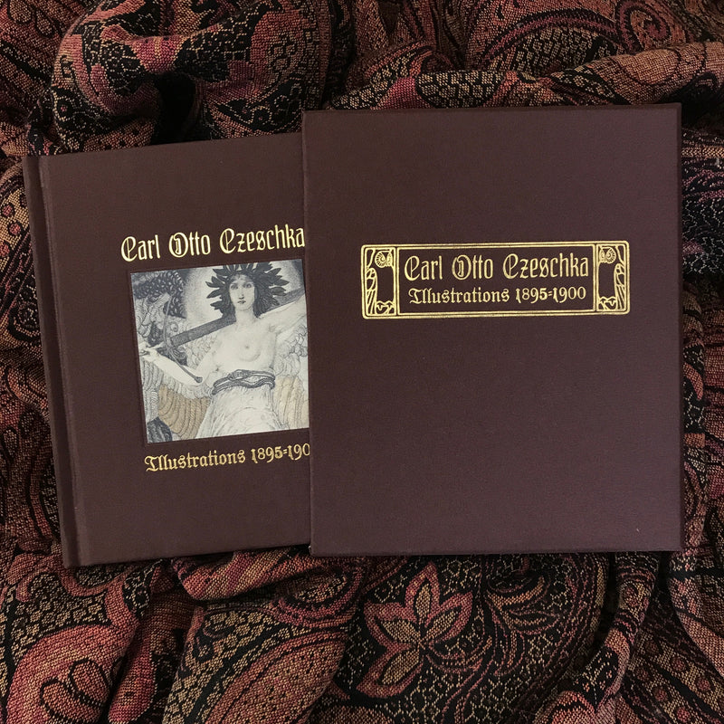 Carl Otto Czeschka: Rare Art Nouveau Illustrations 1895-1900 [Hardcover]